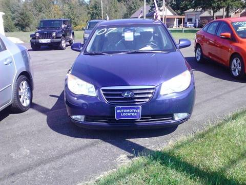 2007 Hyundai Elantra for sale at Automotive Locator- Auto Sales in Groveport OH