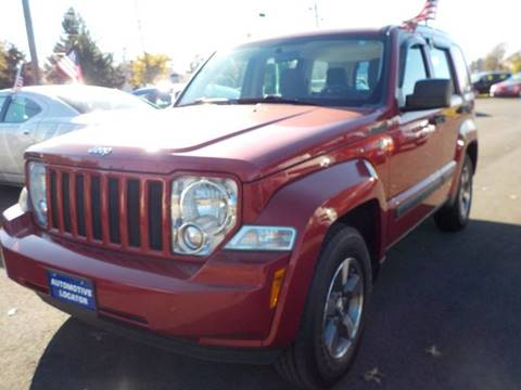 2008 Jeep Liberty for sale at Automotive Locator- Auto Sales in Groveport OH