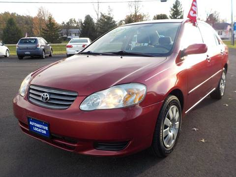 2004 Toyota Corolla for sale at Automotive Locator- Auto Sales in Groveport OH