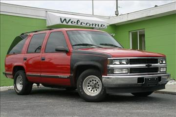1999 Chevrolet Tahoe for sale at Caesars Auto Sales in Longwood FL