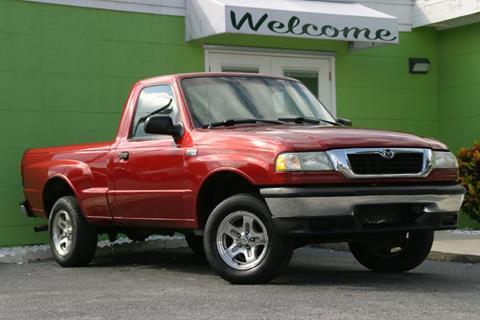 1998 Mazda B-Series Pickup for sale at Caesars Auto Sales in Longwood FL