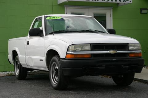 2002 Chevrolet S-10 for sale at Caesars Auto Sales in Longwood FL