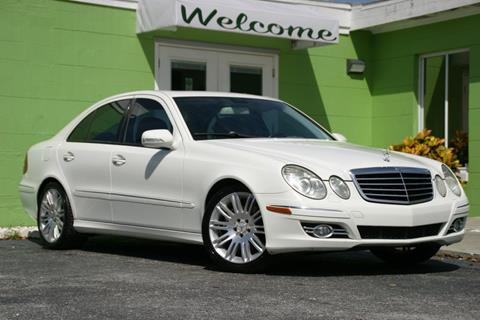 2007 Mercedes-Benz E-Class for sale at Caesars Auto Sales in Longwood FL