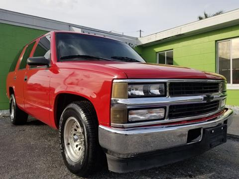 1999 Chevrolet Tahoe For Sale In Longwood Fl