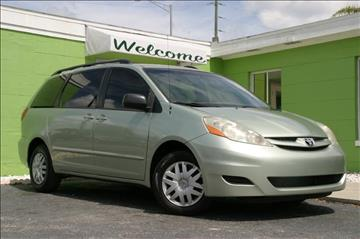 2006 Toyota Sienna for sale at Caesars Auto Sales in Longwood FL