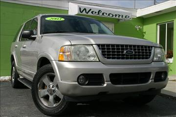 2003 Ford Explorer for sale at Caesars Auto Sales in Longwood FL