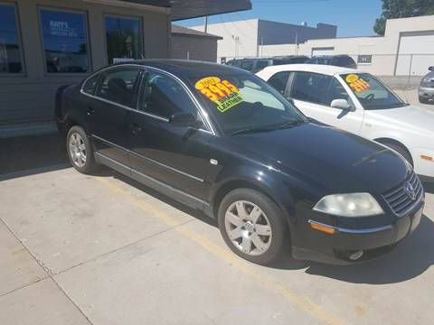 2001 Volkswagen Passat for sale at Kenosha Auto Outlet LLC in Kenosha WI