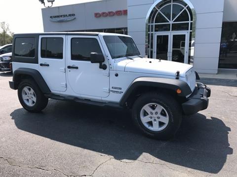 2013 Jeep Wrangler Unlimited for sale in Frontenac, KS