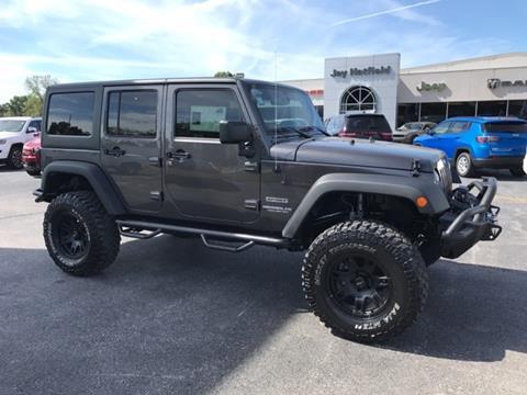 2017 Jeep Wrangler Unlimited for sale in Frontenac, KS