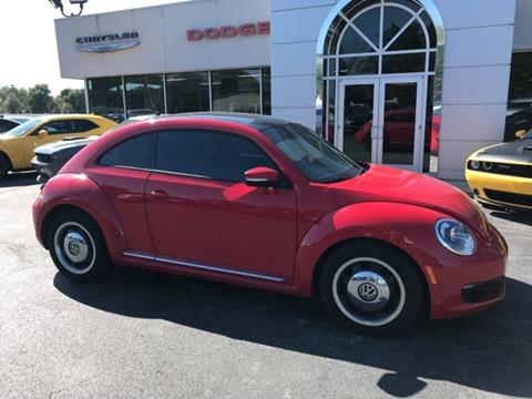 2012 Volkswagen Beetle for sale in Frontenac, KS
