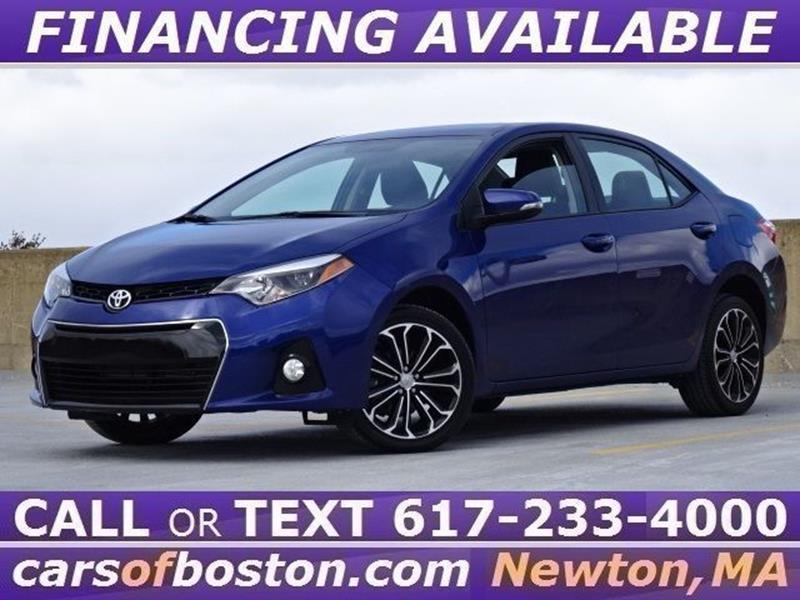 2016 Toyota Corolla S In Newton MA - Cars of Boston