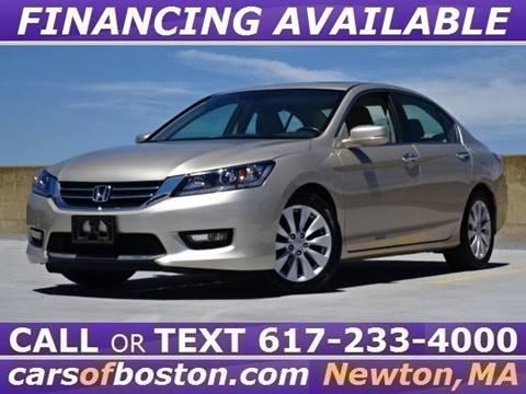 2015 Honda Accord for sale in Newton, MA
