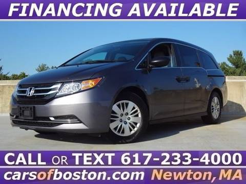 2016 Honda Odyssey for sale in Newton, MA
