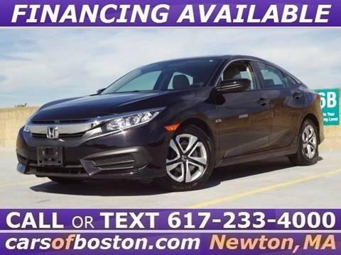 2016 Honda Civic for sale in Newton, MA