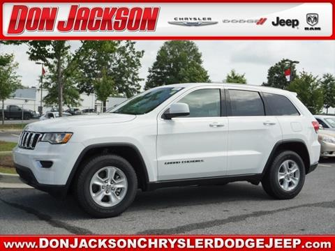 2017 Jeep Grand Cherokee for sale in Union City, GA