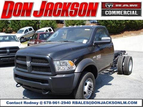 2016 RAM Ram Chassis 5500 for sale in Union City, GA