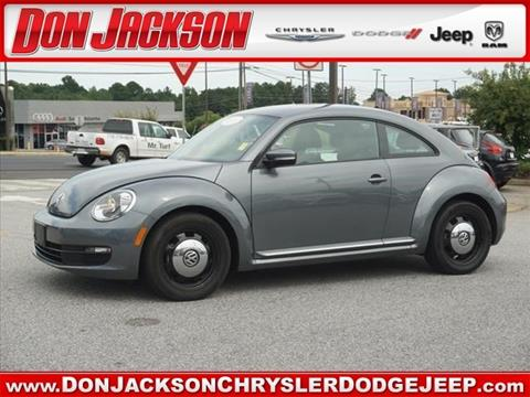 2016 Volkswagen Beetle for sale in Union City, GA