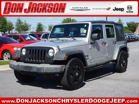 2009 Jeep Wrangler Unlimited for sale in Union City, GA