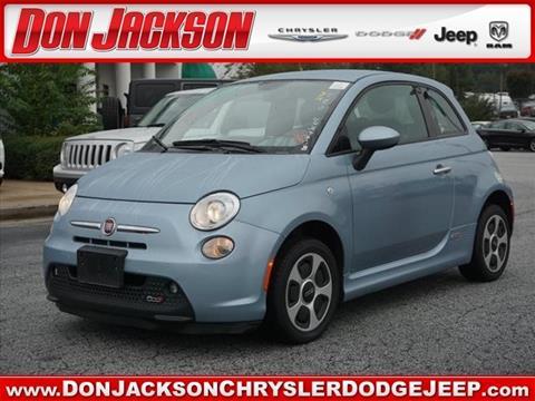 2015 FIAT 500e for sale in Union City, GA