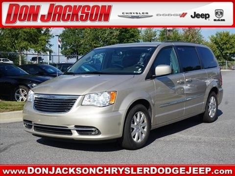 2016 Chrysler Town and Country for sale in Union City, GA