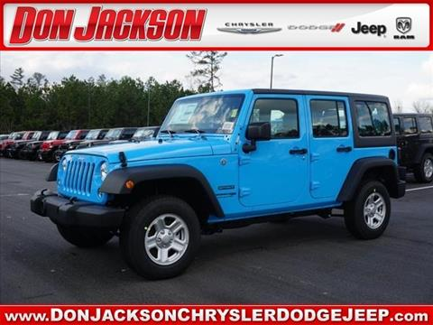 2018 Jeep Wrangler Unlimited for sale in Union City, GA