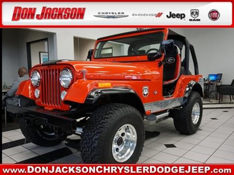 1972 Jeep CJ-5 for sale in Union City, GA