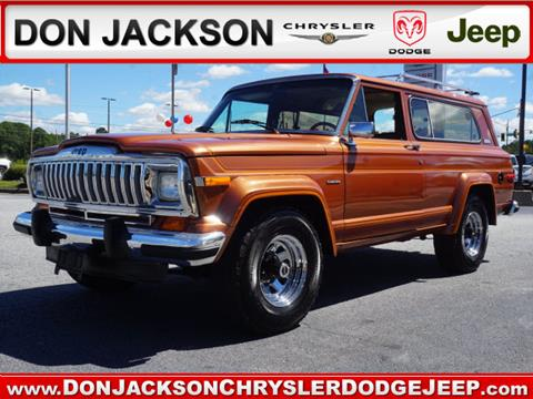 1983 Jeep Cherokee for sale in Union City, GA