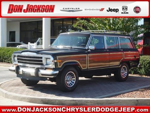 1989 Jeep Grand Wagoneer for sale in Union City, GA
