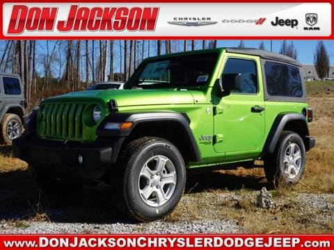 2019 Jeep Wrangler for sale in Union City, GA