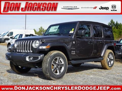 2019 Jeep Wrangler Unlimited for sale in Union City, GA