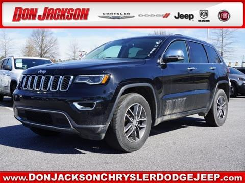 2017 Jeep Grand Cherokee for sale in Union City, GA
