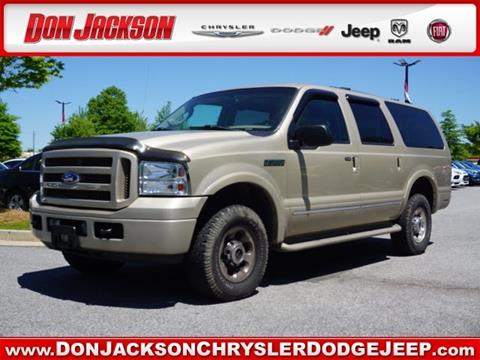2005 Ford Excursion For Sale In Union City Ga