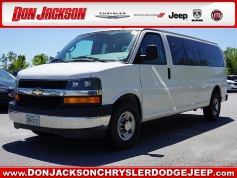 2017 Chevrolet Express Passenger for sale in Union City, GA