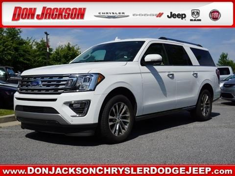 2018 Ford Expedition MAX for sale in Union City, GA