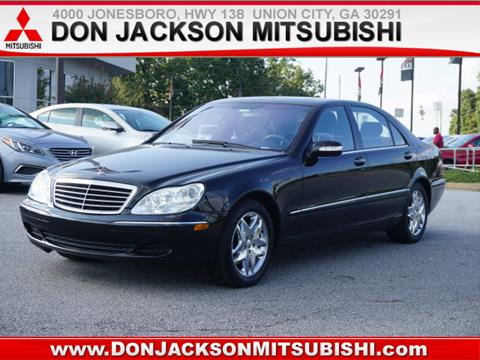 2003 Mercedes-Benz S-Class for sale in Union City, GA