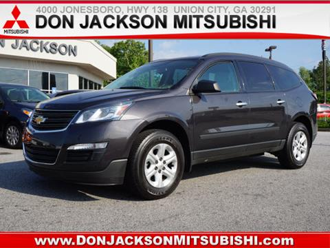 Good 2015 Chevrolet Traverse For Sale At Don Jackson Mitsubishi In Union City GA