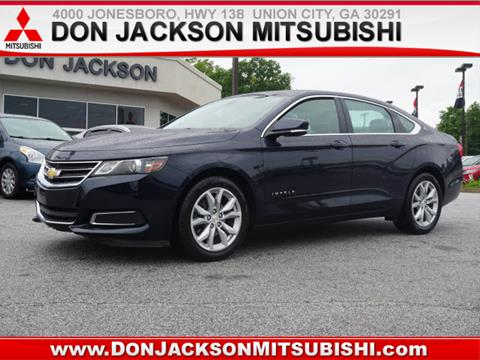 Lovely 2016 Chevrolet Impala For Sale At Don Jackson Mitsubishi In Union City GA