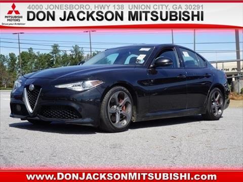 2018 Alfa Romeo Giulia for sale in Union City, GA