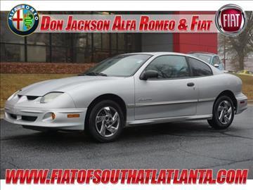 2002 Pontiac Sunfire for sale in Morrow, GA