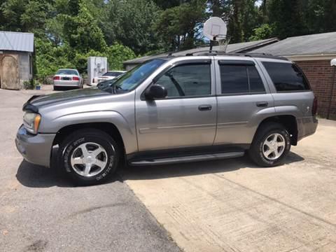 2006 Chevrolet TrailBlazer for sale in Plainville, GA