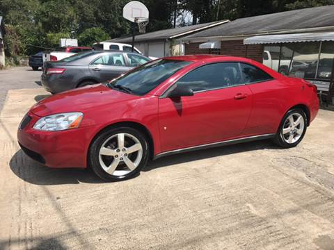 2007 Pontiac G6 for sale in Plainville, GA
