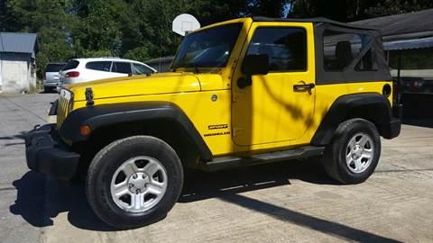 2011 Jeep Wrangler for sale in Plainville, GA