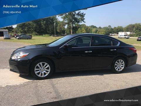 2016 Nissan Altima for sale in Plainville, GA