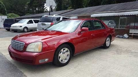 2002 Cadillac DeVille for sale in Plainville, GA