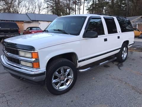 1999 Chevrolet Suburban for sale in Plainville, GA