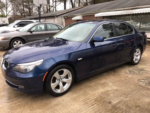 2008 BMW 5 Series for sale in Plainville, GA