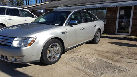2008 Ford Taurus for sale in Plainville, GA