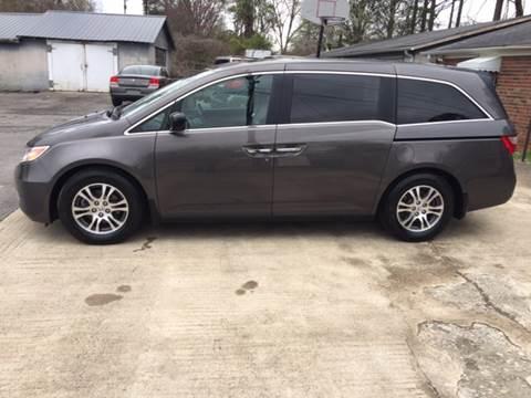 2011 Honda Odyssey for sale in Plainville, GA