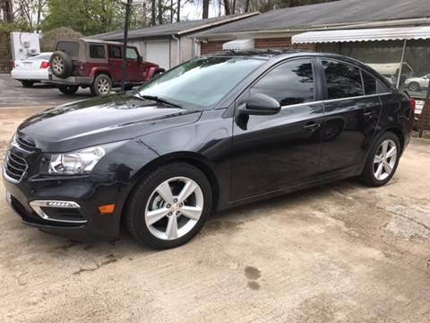 2015 Chevrolet Cruze for sale in Plainville, GA