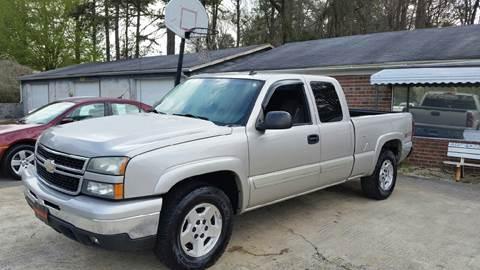 2006 Chevrolet Silverado 1500 for sale in Plainville, GA